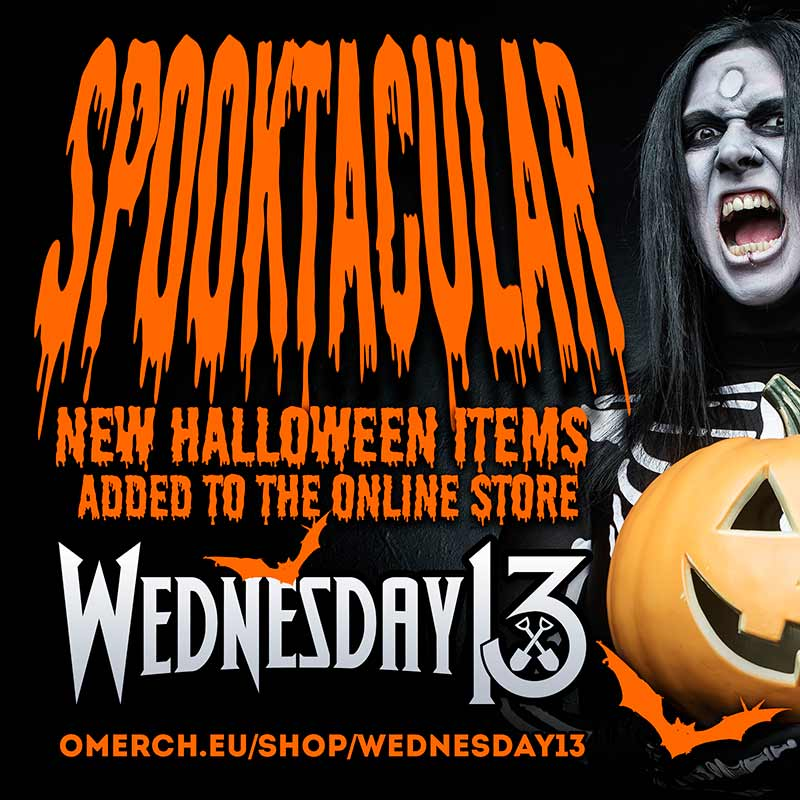 Limited edition Wednesday 13 Halloween Shop - Europe