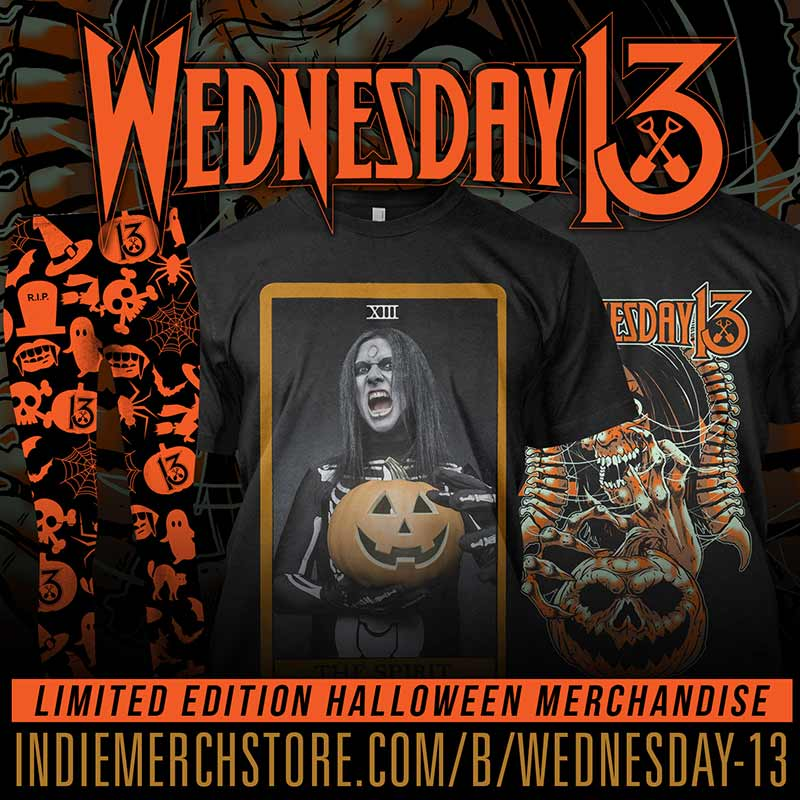 Limited edition Wednesday 13 Halloween Shop - USA