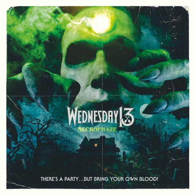 Wednesday 13 Necrophaze CD Cover