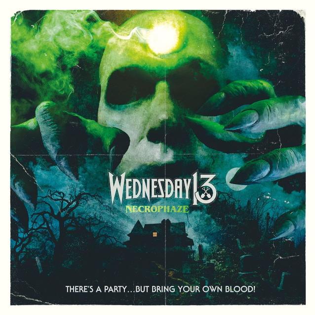 Wednesday 13 Necrophaze CD Cover