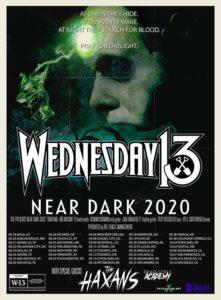 "WEDNESDAY 13'S ""NEAR DARK TOUR"""