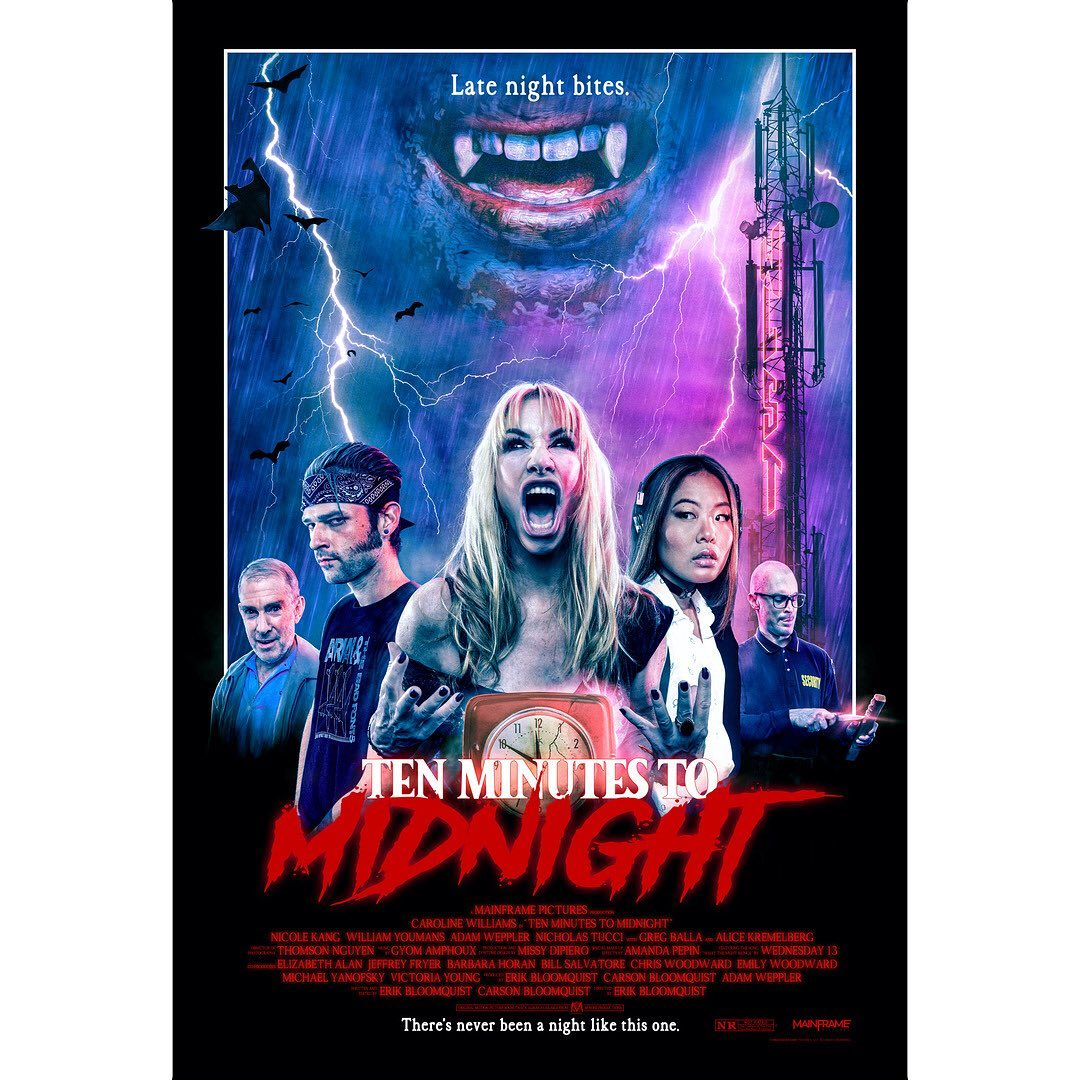 Ten Minutes To Midnight - Movie poster