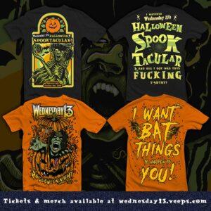 Wednesday 13 Halloween 2020 Merchandise