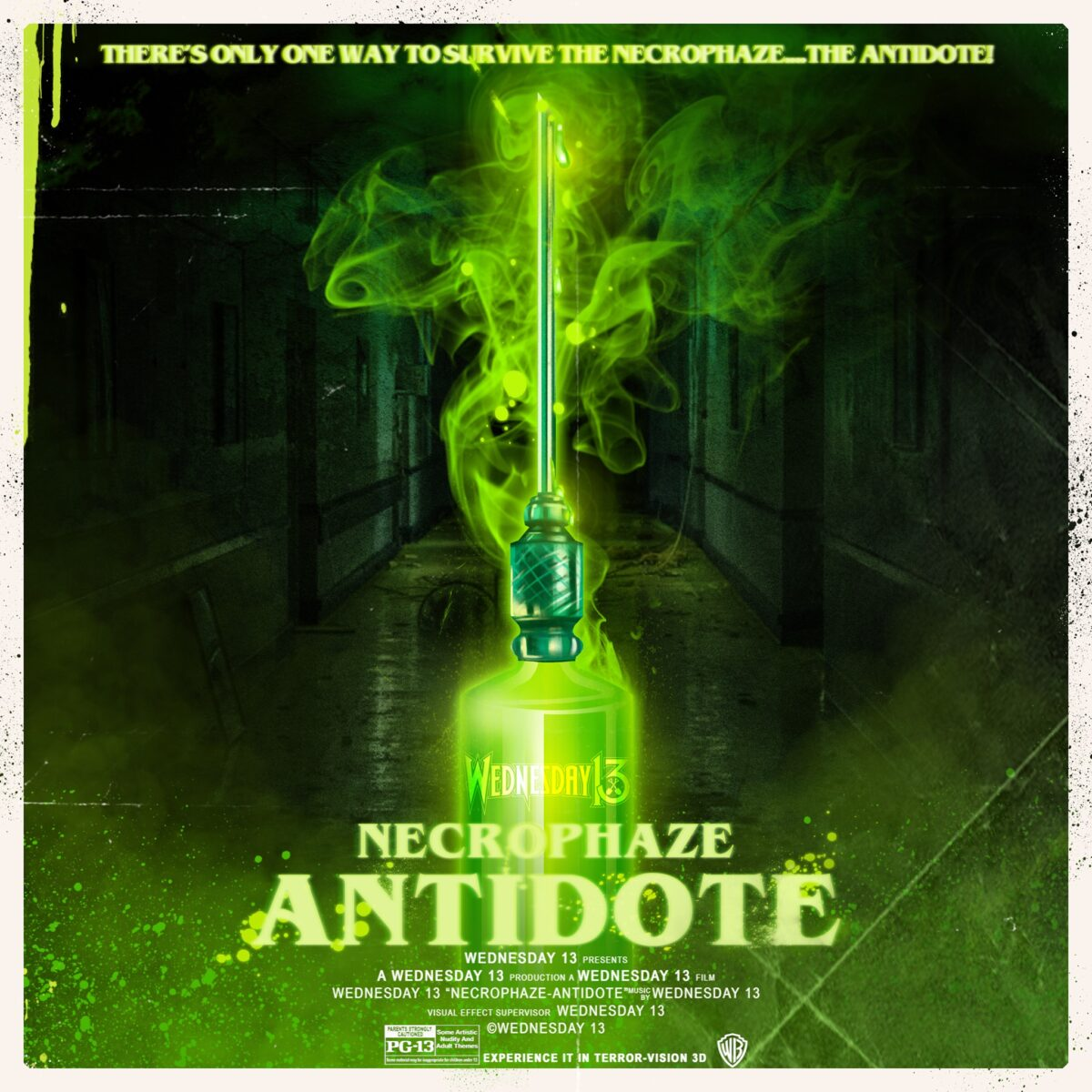 Wednesday 13 - Necrophaze: Antidote EP
