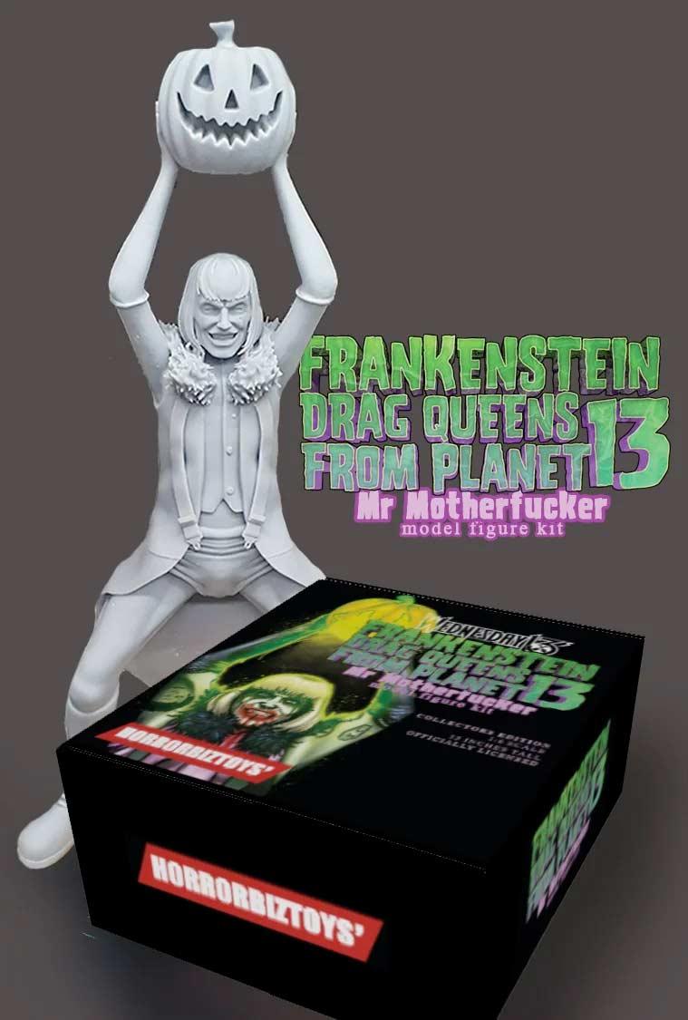 Wednesday 13's Frankenstein Drag Queens From Planet 13 - Mr Motherfucker model figure kit.